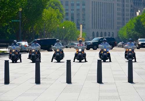transportation six men riding motorcycles vehicle