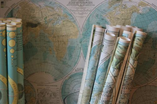 photo globe map scroll lot free for commercial use images