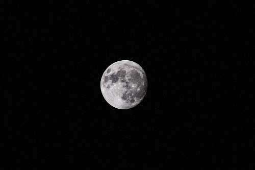 night full moon moon