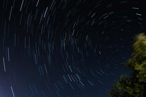 greece time lapse photography of stars universe