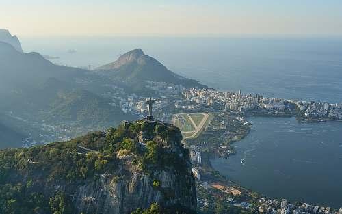 mountain Christ the Redeemer, Brazil rio de janeiro