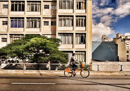 bicycle person riding bicycle during daytime cyclist