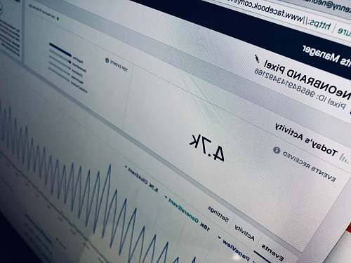 grey computer screen displaying 4.7k neonbrand digital marketing