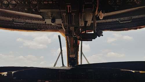 cockpit gray airplane control panel aircraft
