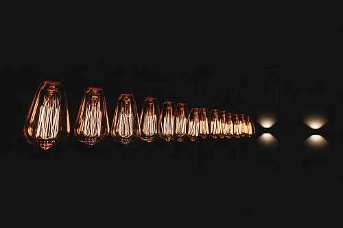 light incandescent bulbs lamp