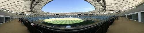 maracanã landscape photography of game field stadium