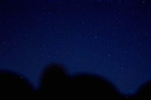 astronomy blue sky during nighttime night