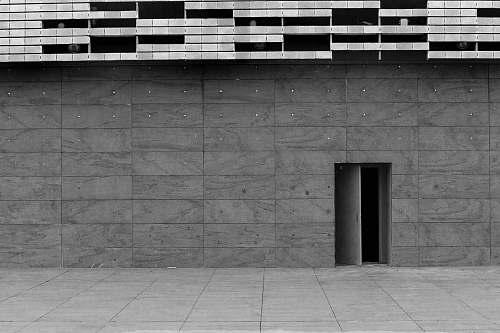door  concrete