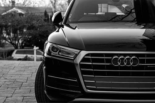 car black Audi vehicle vehicle
