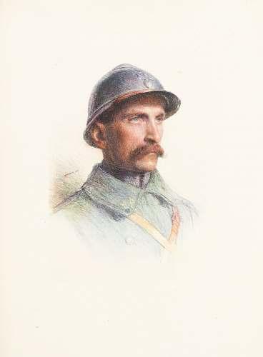 art man in blue shirt wearing black hat person