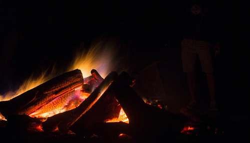 fire bon fire flame