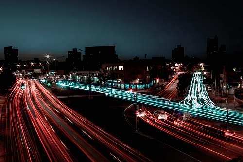 freeway timelapse photography highway