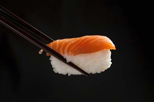 food sushi on focus photography brown