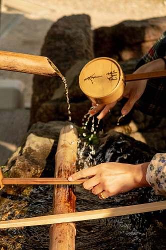 japan flowing water water