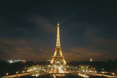 building Eiffel Tower during night time tower