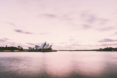 architecture Opera House, Sydney Australia water