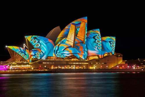 building Opera House, Sydney Australia architecture