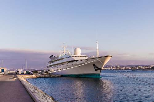 vehicle white cruise ship transportation
