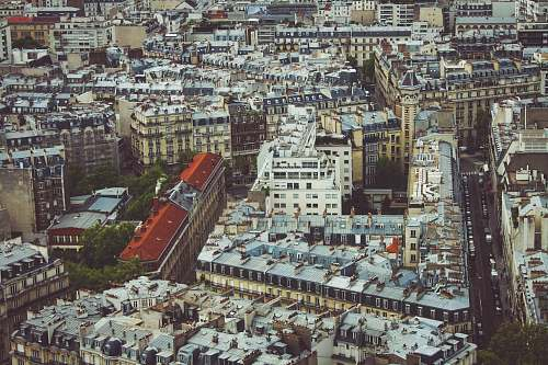 city aerial photography of buildings during daytime france