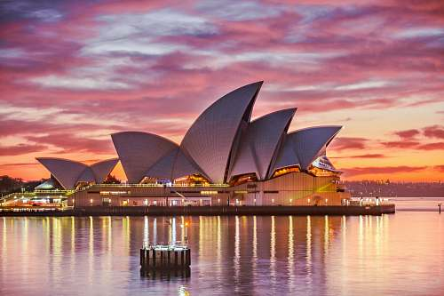 australia architectural photography of building architecture