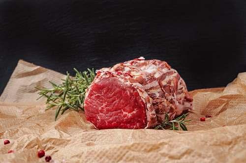 steak raw meat pork