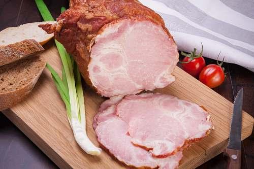 ham sliced ham cutted
