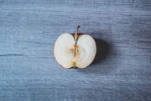 apple sliced apple flora