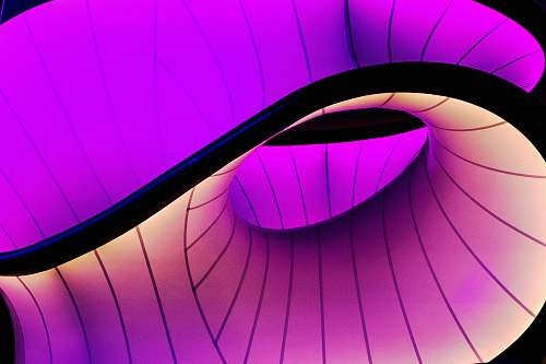 science museum purple and black digital wallpaper abstract