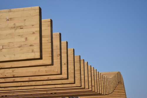 plywood wood plank lot architecture