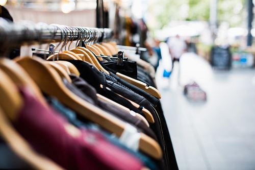 photo selective focus photography of hanged clothes free for commercial use images