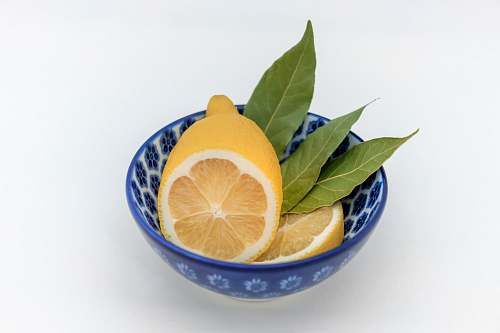 fruit bowl of lemon plant