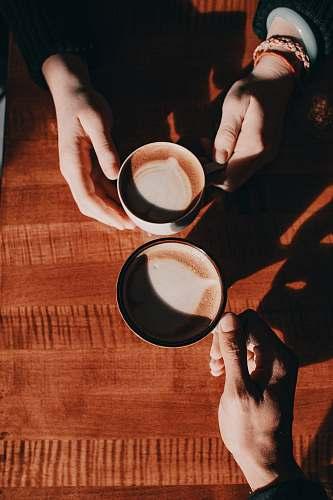 drink coffee latte beverage
