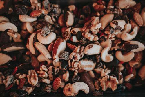 vegetable cashew nuts produce