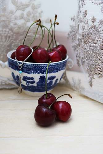 food red cherry fruits fruit