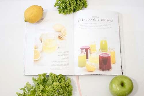 apple white book fruit