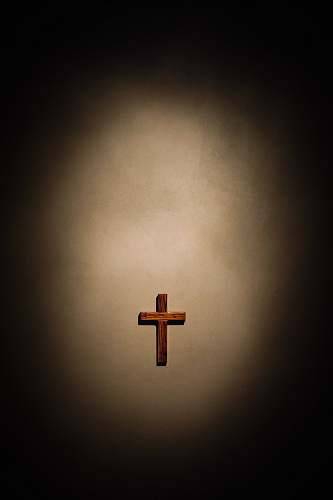 symbol cross cutout decor christianity