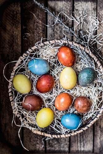 egg assorted-colored eggs easter egg
