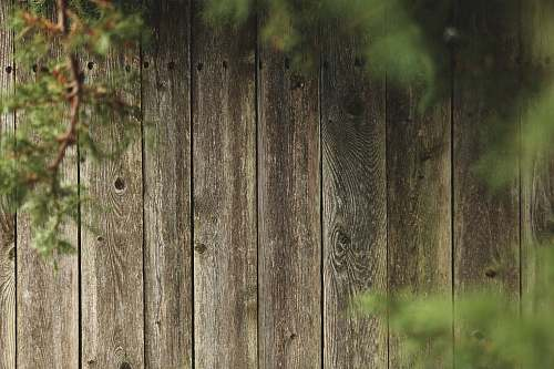 hardwood brown wooden fence wooden