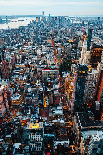 photo birds eye view of city buildings free for commercial use images