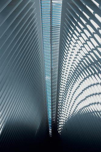 interior shot of a gray building
