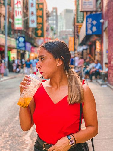 photo woman sipping drinking cup free for commercial use images