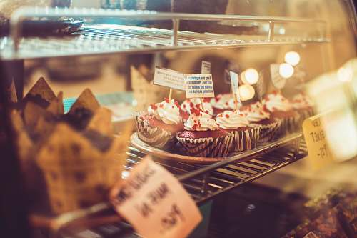 shop cupcakes inside freezer cake