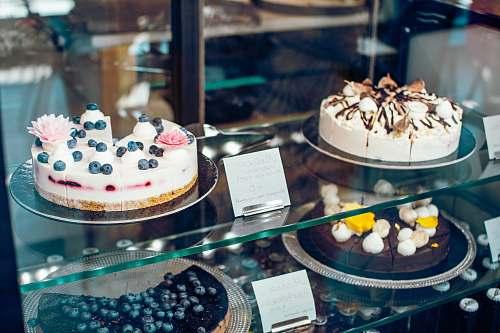 shop round baked cakes birthday cake