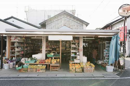person gray store shop