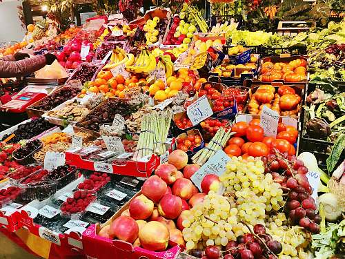 shop assorted fruits in store grocery store
