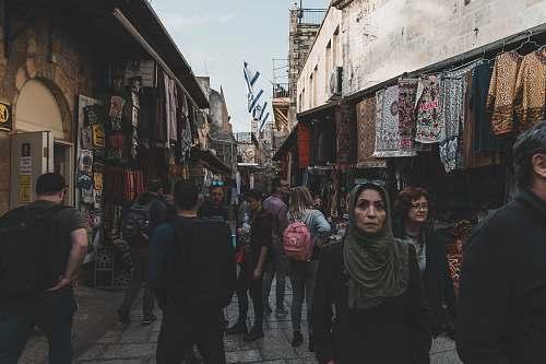 human people walking on pathway pedestrian