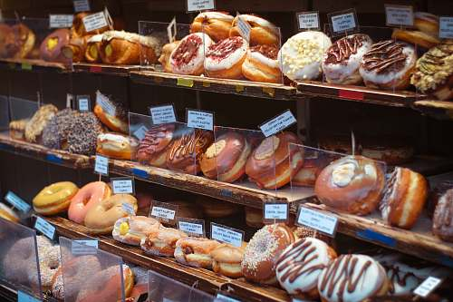 cream assorted breads bakery
