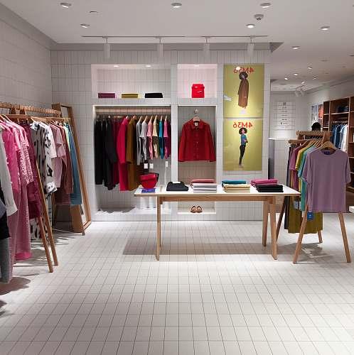 boutique assorted-color clothes lot clothing