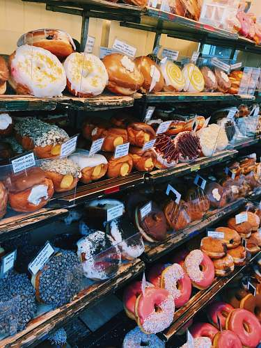photo bakery assorted doughnuts bread free for commercial use images