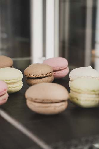 photo confectionery bunch of macarons bakery free for commercial use images
